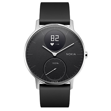 Opiniones sobre Withings Nokia Steel HR 36 mm Silicona Negro