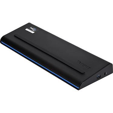 Targus USB 3.0 Dual Video Universal Docking Station with Power Station d'accueil USB 3.0 pour ordinateur portable - résolution maximale HD (2048x1152) - ports HDMI / DVI / 2x USB 3.0 / 4x USB 2.0 / Gigabit Ethernet / Jack - alimentation 90W - compatible Windows et Mac