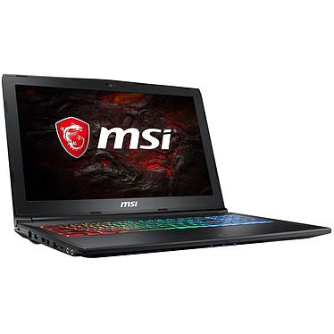 "MSI GP62M 7REX-2063FR Leopard Pro Intel Core i5-7300HQ 8 Go SSD 128 Go + HDD 1 To 15.6"" LED Full HD NVIDIA GeForce GTX 1050 Ti 4 Go Wi-Fi AC/Bluetooth Webcam Windows 10 Famille 64 bits (garantie constructeur 2 ans)"