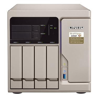 QNAP TS-677-1600-8G Serveur NAS 6 baies (sans disque dur) avec 8GB DDR4