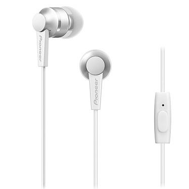 Pioneer SE-C3T Blanc Écouteurs intra-auriculaires avec télécommande et micro