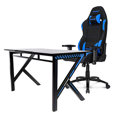 AKRacing Gaming Desk (bleu)