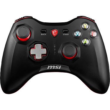 MSI Force GC30 Manette sans fil avec croix directionnelle interchangeable (compatible PC / Android / Consoles)