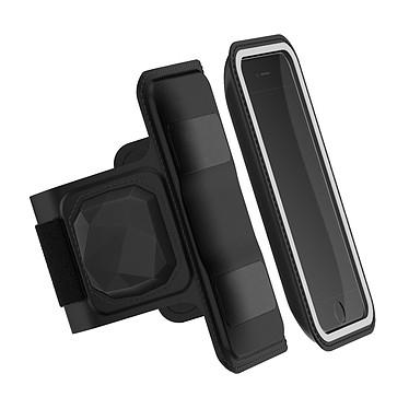 Shapeheart Brassard Cardio Brassard magnétique avec étui amovible et capteur cardiaque pour smartphones