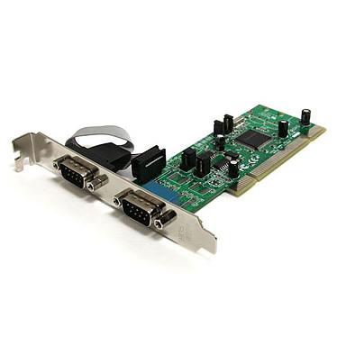 StarTech.com PCI2S4851050 Carte PCI avec 2 ports DB-9 RS422/RS485 - 161050 UART
