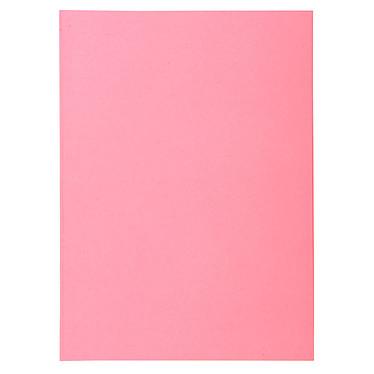 """Exacompta Sous chemises Super 60 Rose x 100 Lot de 100 sous chemises """"Super 60"""" en carte 60g format A4 Rose"""