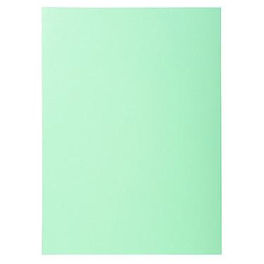 """Exacompta Sous chemises Super 60 Vert x 100 Lot de 100 sous chemises """"Super 60"""" en carte 60g format A4 Vert"""