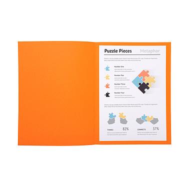 Avis Exacompta Chemises Super Orange x 100