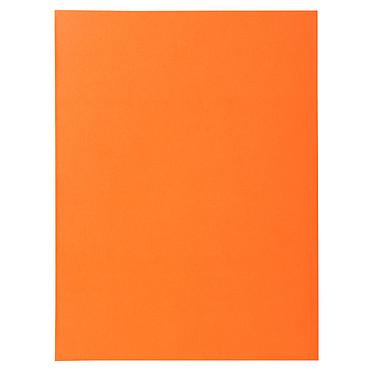 Exacompta Chemises Super Orange x 100 Lot de 100 chemises en carte 210g format A4 Orange