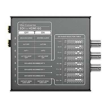 Avis Blackmagic Design Mini Converter SDI to HDMI 6G
