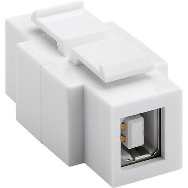 Goobay Conector USB 2.0B Conector para multimedia box - USB 2.0 Type-B/USB 2.0 Type-A (hembra/hembra)