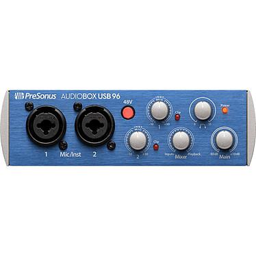 PreSonus AudioBox USB 96 Interface audio/MIDI USB 2.0 2 x 2 24 bits/ 96 kHz