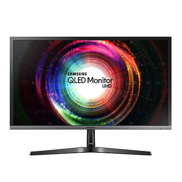 """Samsung 28"""" LED - U28H750UQU 3840 x 2160 pixels - 1 ms (gris à gris) - Format large 16/9 - AMD FreeSync - DisplayPort - HDMI - Noir (garantie constructeur 3 ans)"""