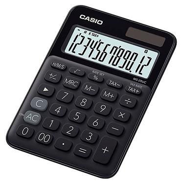 Casio MS-20UC Noir Calculatrice compacte de bureau 12 chiffres
