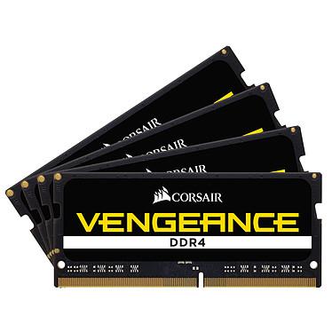 Corsair Vengeance SO-DIMM DDR4 32 Go (4 x 8 Go) 4000 MHz CL19 Kit Quad Channel RAM DDR4 PC4-32000 - CMSX32GX4M4X4000C19 (Garantie à vie par Corsair)