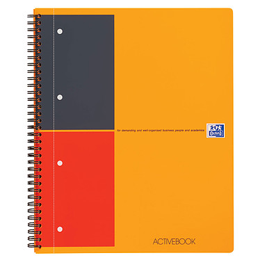 Oxford ActiveBook Cahier A4+ 160 pages Cahier 160 pages A4+ 230 x 297 mm ligné 6 mm