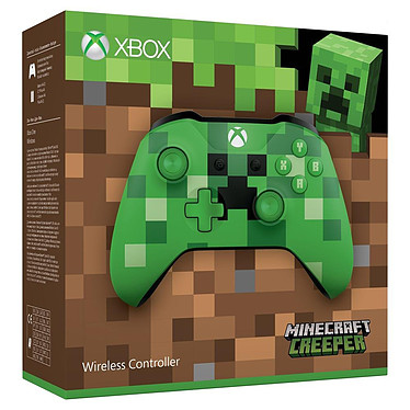 Avis Microsoft Xbox One Wireless Controller Minecraft Creeper