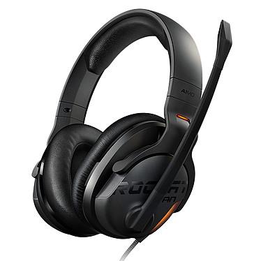 ROCCAT Khan AIMO Noir Casque-micro 7.1 certifié Hi-Res Audio avec rétro-éclairage AIMO pour gamer