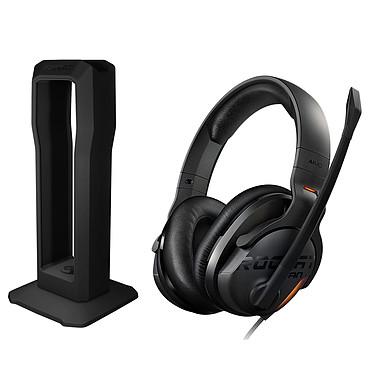 ROCCAT Khan AIMO + Modulok OFFERT ! Casque-micro 7.1 certifié Hi-Res Audio avec rétro-éclairage AIMO pour gamer (compatible PC / Mac / PS4 / Xbox One / tablettes / smartphones) + Support modulable pour casque OFFERT !