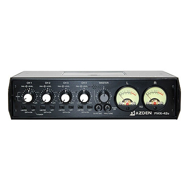 Azden Mixette Reflex 4 Canaux Mixette 4 canaux avec 4 entrées XLR et 2 sorties XLR et 1 sortie USB