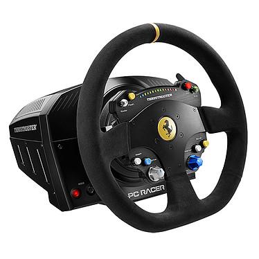 Thrustmaster TS-PC Racer Ferrari 488 Challenge Edition Volant à retour de force avec plastron en métal (compatible T3A-PRO, T3PA et TH8A)