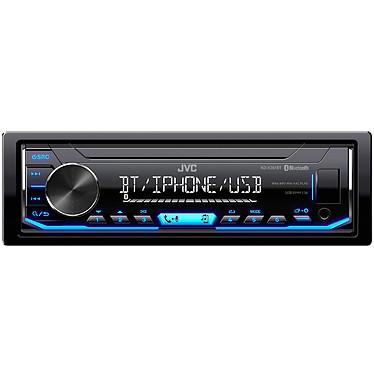 JVC KD-X351BT Autoradio MP3 / FM pour iPod/iPhone, Android avec Bluetooth port USB et entrée AUX