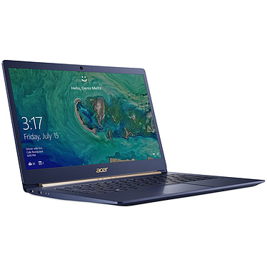 "Acer Swift 5 SF514-52T-51CW Bleu Intel Core i5-8250U 8 Go SSD 256 Go 14"" LED Tactile Full HD Wi-Fi AC/Bluetooth Webcam Windows 10 Famille 64 bits"