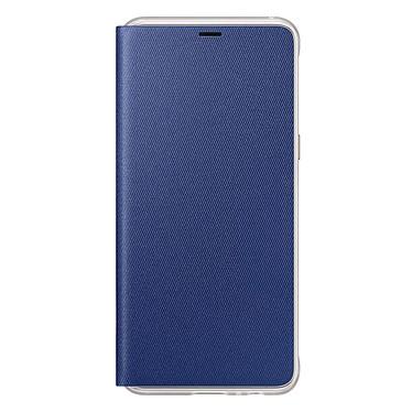 Samsung Flip Cover Néon Bleu Galaxy A8 Etui folio pour Samsung Galaxy A8