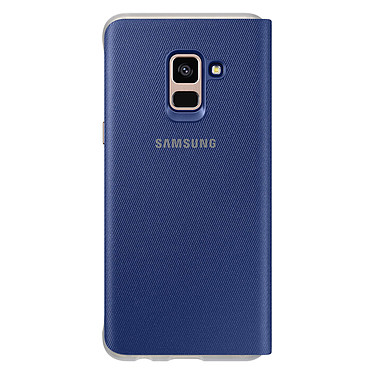 Acheter Samsung Flip Cover Néon Bleu Galaxy A8