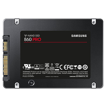 Samsung SSD 860 PRO 256 Go pas cher