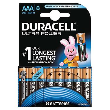 Duracell Ultra Power AAA (par 8) Pack de 8 piles alcalines AAA (LR03) 1.5V
