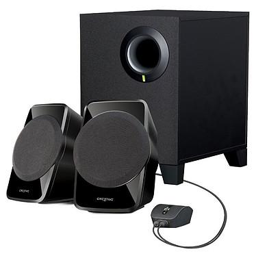 Creative SBS A120 Kit d'enceintes multimédia - son stéréo 2.1 - 9W RMS - Jack 3.5 mm - compatible PC, ordinateur portable, TV