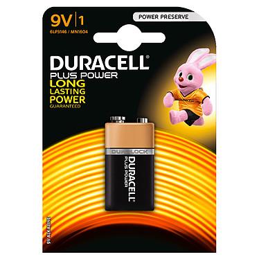 Duracell Plus Power 9V (par 1) Pile alcaline 9V (6LP3146)