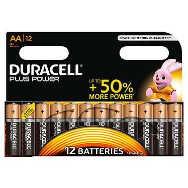 Duracell Plus Power AA (par 12) Pack de 12 piles alcalines AA (LR6) 1.5V