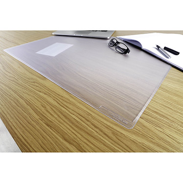 Avis DURABLE Sous-main transparent Duraglass 65 x 50 cm
