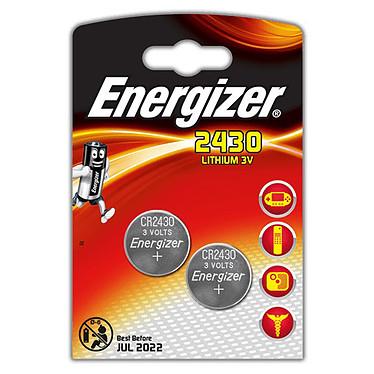 Energizer CR2430 Lithium 3V (par 2) Pack de 2 piles boutons CR2430 au lithium 3V