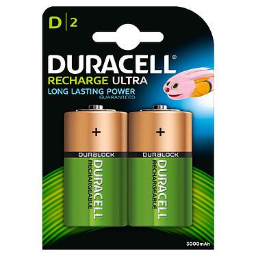 Duracell Recharge Ultra D 3000 mAh (par 2) Pack de 2 piles rechargeables D 3000 mAh