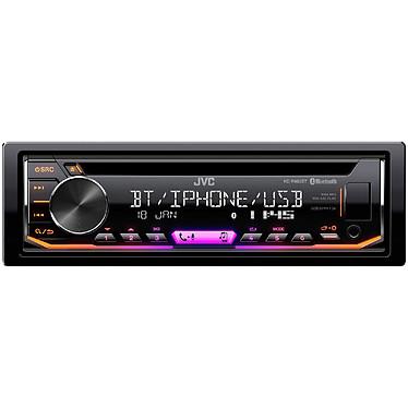 JVC KD-R992BT Autoradio CD / MP3 / FM / RDS pour Android / iPhone avec Bluetooth, port USB, entrée AUX et contrôle Spotify
