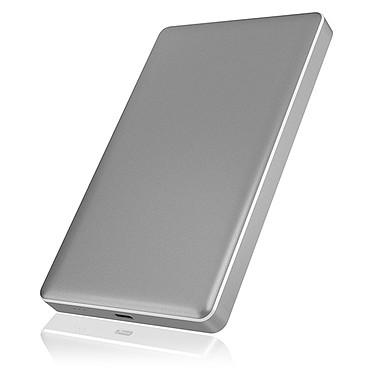 """ICY BOX IB-245-C31-G Boîtier pour disque dur 2.5"""" Serial ATA sur port USB 3.1 Type C"""