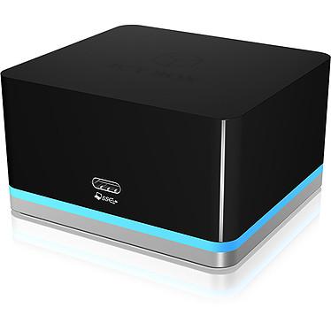 ICY BOX IB-DK2101-C Station d'accueil pour ordinateur portable et de bureau (Ethernet / USB / HDMI)