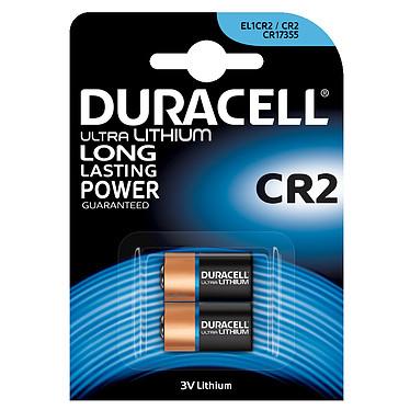 Duracell Ultra CR2 Lithium 3V (par 2) Pack de 2 piles CR2 au lithium 3V