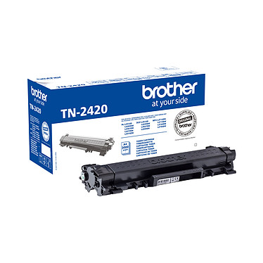 Brother TN-2420 (Noir) Toner noir (3 000 pages à 5%)