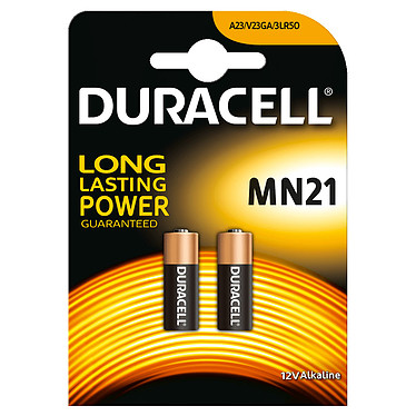 Duracell MN21 12V (par 2) Pack de 2 piles alcaline 12V (MN21)
