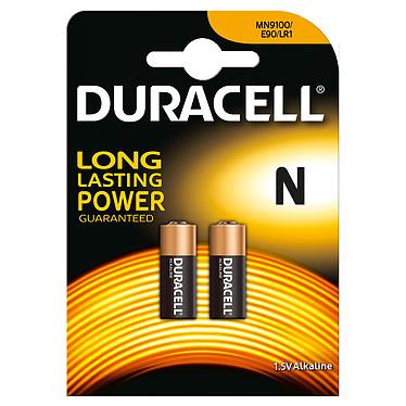 Duracell N 1.5V (par 2) Pack de 2 piles alcaline 1.5V (LR1/E90)