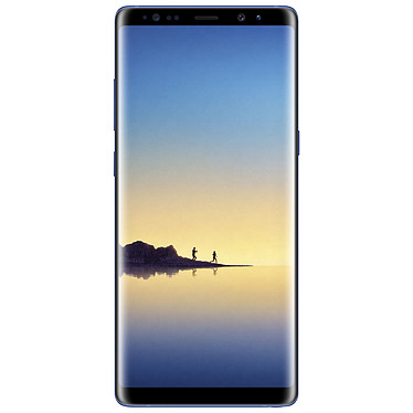 "Samsung Galaxy Note 8 SM-N950 Bleu 64 Go Smartphone 4G-LTE Advanced IP68 - Exynos 8895 8-Core 2.3 Ghz - RAM 6 Go - Ecran tactile 6.3"" 1440 x 2960 - 64 Go - NFC/Bluetooth 5.0 - 3300 mAh - Android 7.1"