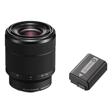 Sony Alpha 7 II + 28-70 mm + Sony NP-FW50 pas cher