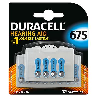 Duracell Hearing Aid 675 (par 12) Pile pour appareils auditifs 675