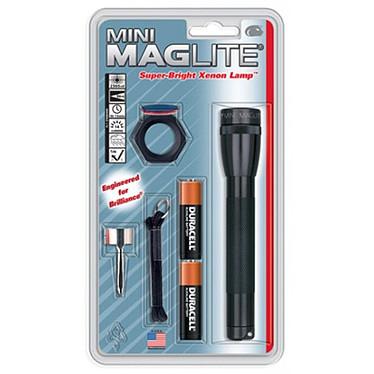 Mag-Lite Mini Lampe torche puissante (96 mètres) de 14.5 cm de longueur