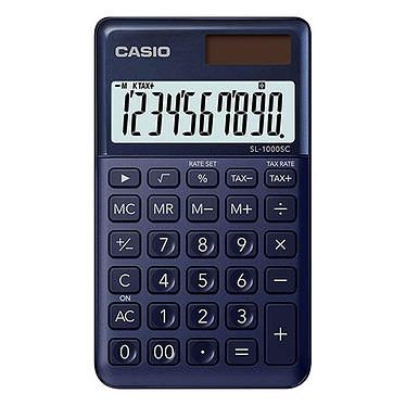 Casio SL-1000SC Bleu Calculatrice compacte de bureau 10 chiffres