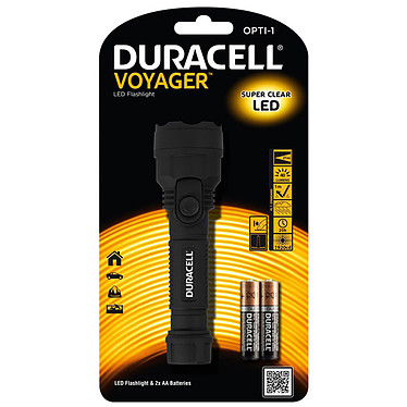 Duracell Voyager Opti-1 Lampe torche LED